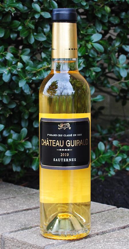 96 Pt Chateau Guiraud Sauternes 2010 - 375.00 ml