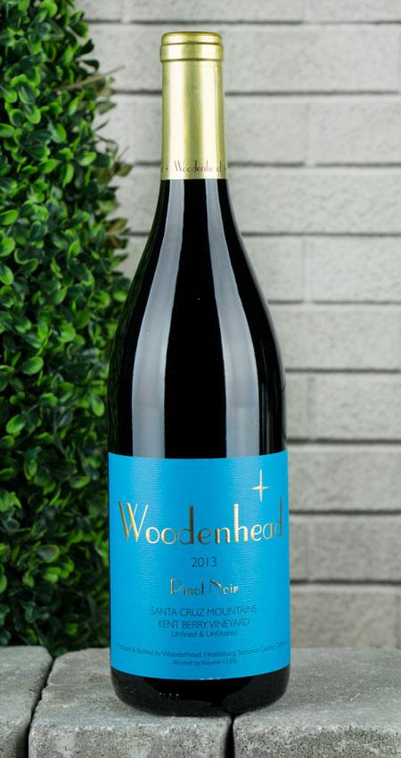 Woodenhead Pinot Noir Santa Cruz Mountains Kent Berry Vineyard 2013