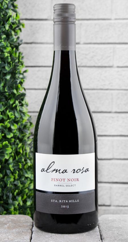 93 Pt. Alma Rosa Santa Rita Hills Barrel Select Pinot Noir 2013