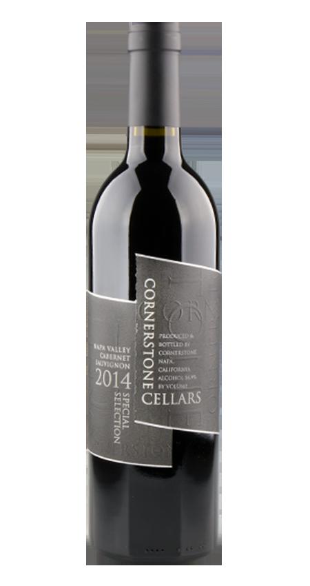 Cornerstone Napa Valley Cabernet Sauvignon Black Label Special Selection 2014