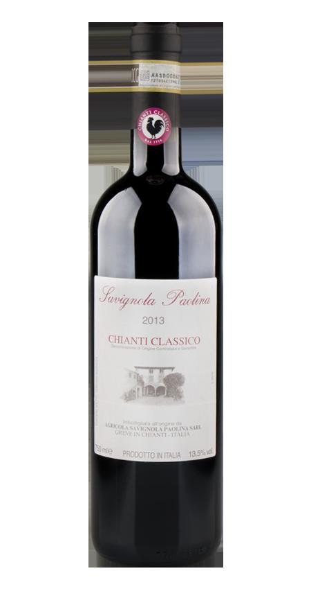 92 Pt Savignola Paolina Chianti Classico 2013