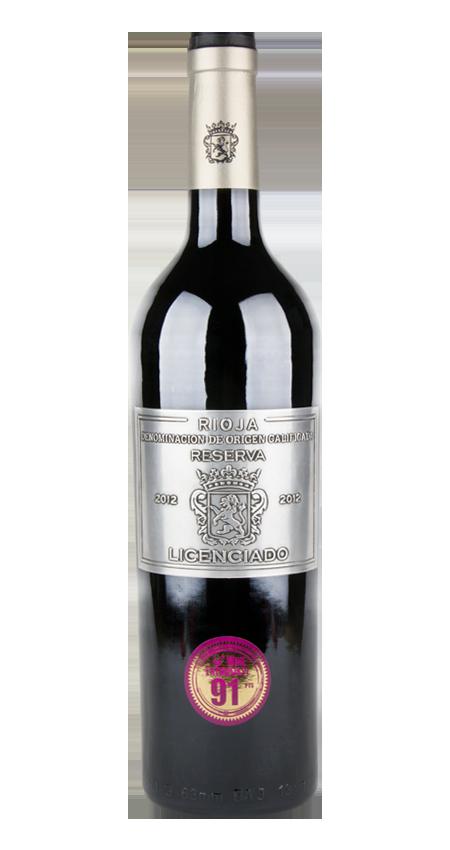 Burgo Viejo Licenciado Rioja Reserva 2012