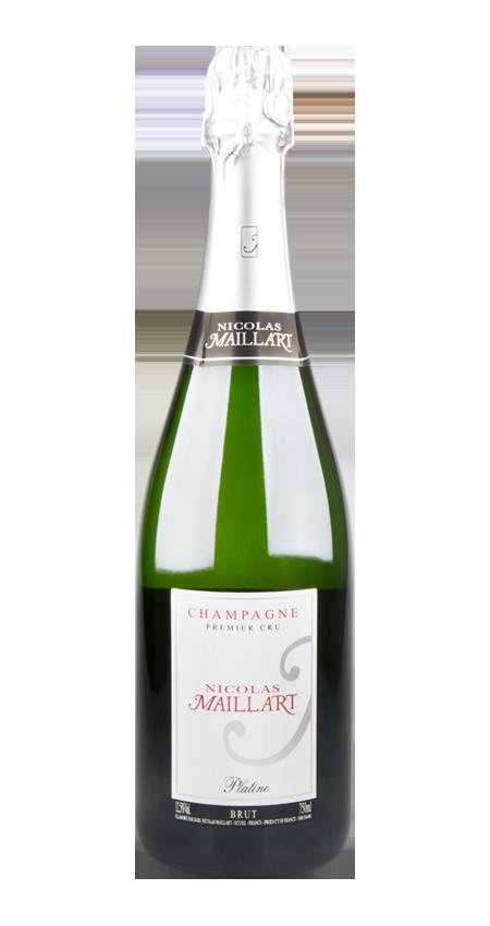 95 Pt. Nicolas Maillart Platine Premier Cru Champagne Brut NV