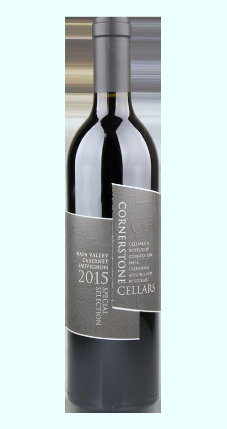 Cornerstone Black Label Special Selection Napa Valley Cabernet Sauvignon 2015