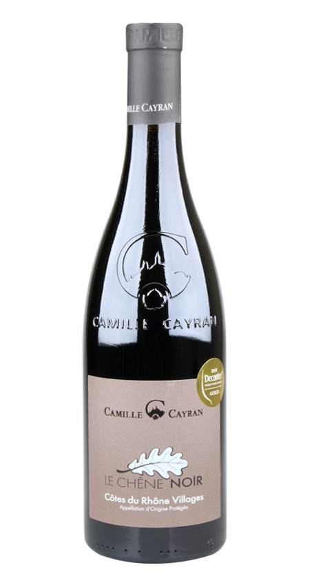 95 Pt. Camille Cayran 'Le Chêne Noir' Côtes-du-Rhône Villages 2017