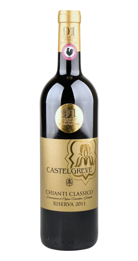 Castelli del Grevepesa Castelgreve Chianti Classico Riserva 'Gold Label' 2011