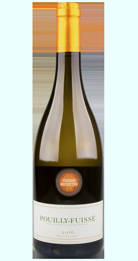 Pouilly-Fuissé White Burgundy 2016 Vignerons des Terres Secrètes