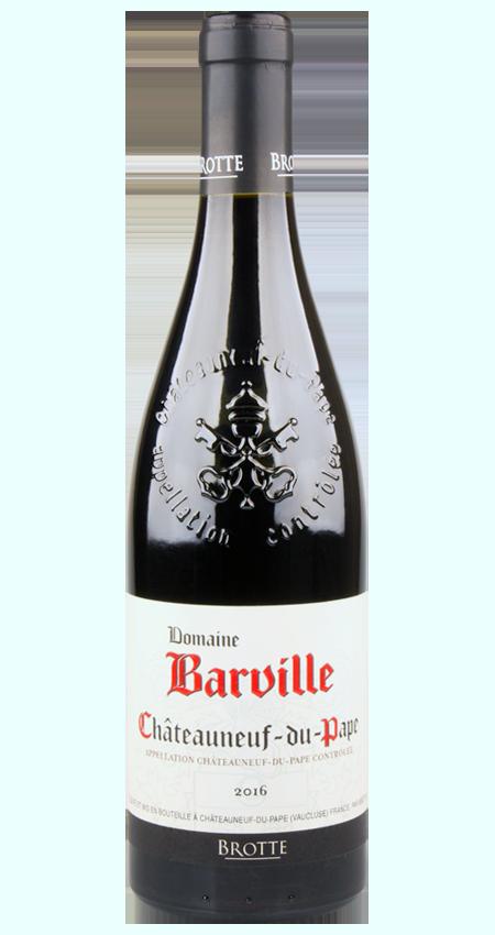 93 Pt. Châteauneuf-du-Pape 2016 Brotte Domaine Barville