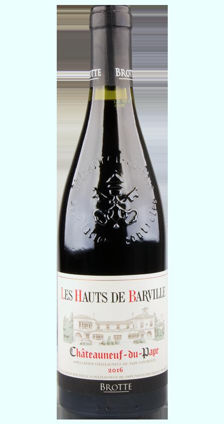 Brotte Les Hauts de Barville Chateauneuf-du-Pape 2016