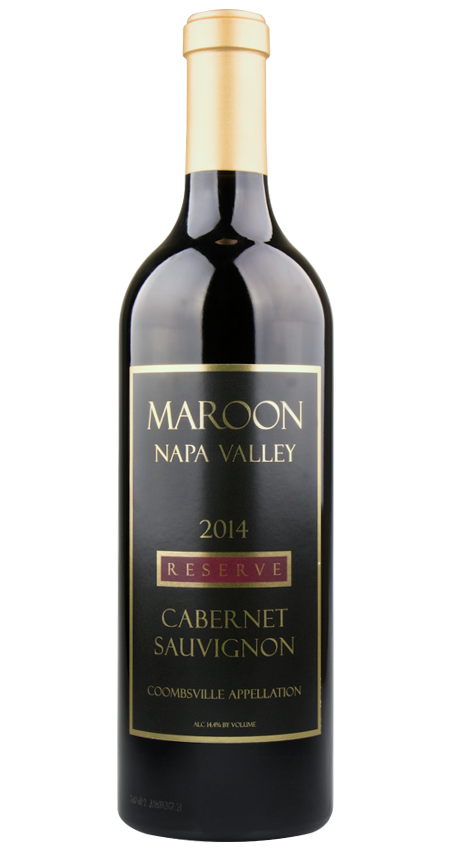 Maroon Winery Coombsville Cabernet Sauvignon Reserve Black Label 2014 Napa Valley