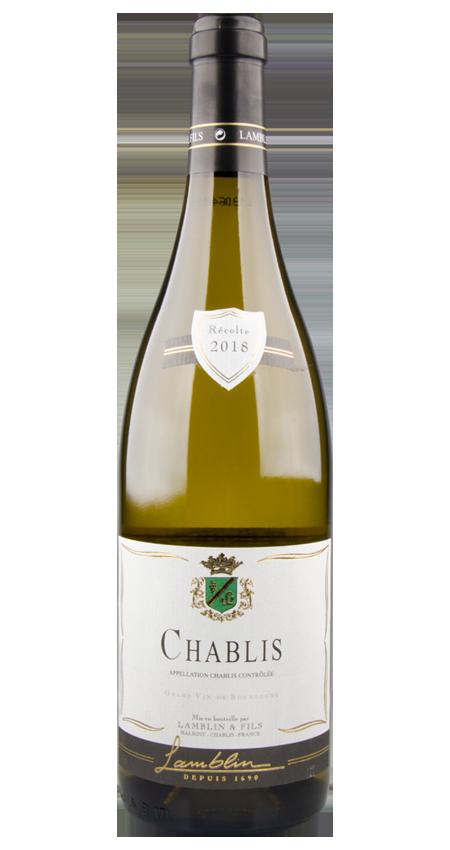 White Burgundy Chablis 2018 Lamblin et Fils
