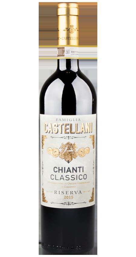 93 Pt. Chianti Classico Riserva 2015 Famiglia Castellani