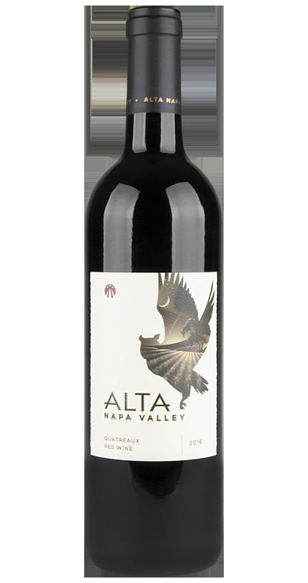 92 Pt. Alta Napa Valley Red Wine Quatreaux 2016