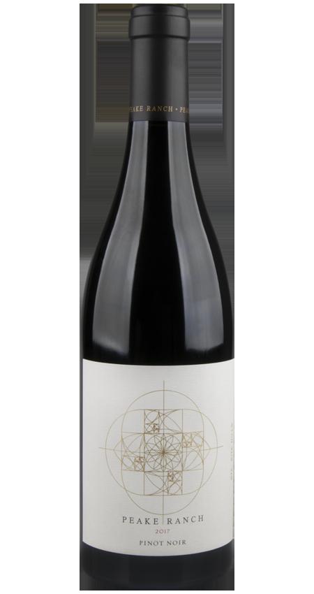 93 Pt Peake Ranch Winery Santa Rita Hills Pinot Noir 2017