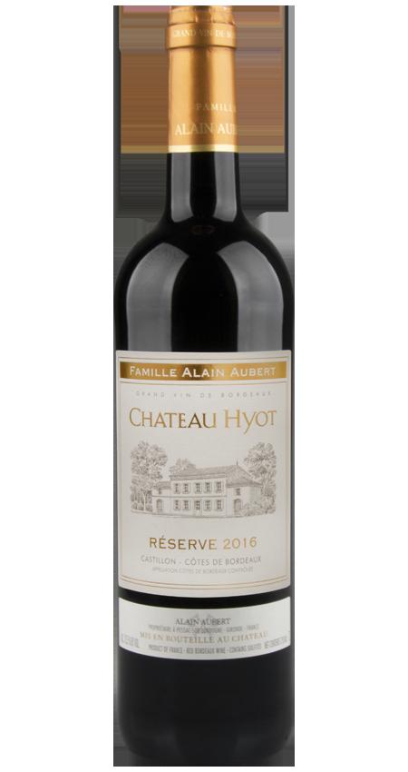 Château Hyot Réserve Côtes de Castillon 2016